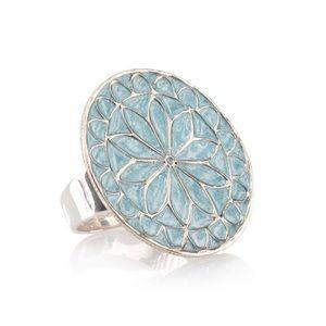 eSBe Designs by Sara Blaine Venetian Ring Size 8